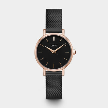BLACK PETITE LA BOHEME WATCH