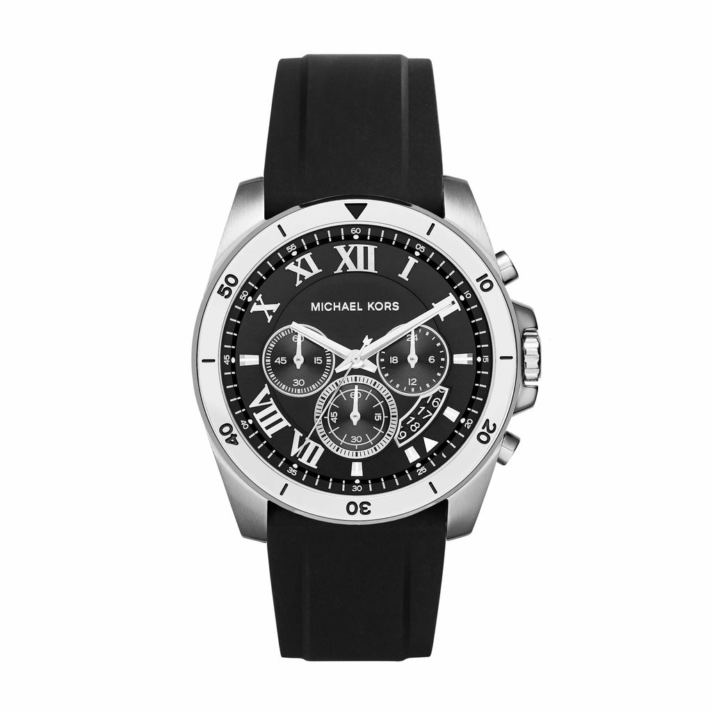 MICHAEL KORS BLACK BRECKEN WATCH