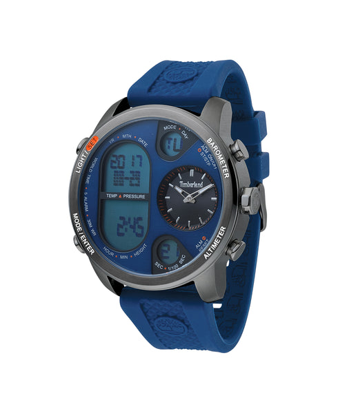 TIMBERLAND HT4 GUN/BLUE | DARK BLUE WATCH