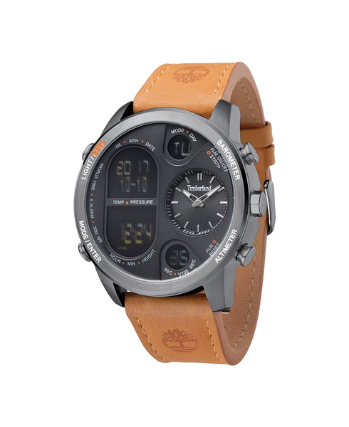 TIMBERLAND HT4 GUN/BLACK | BROWN WATCH