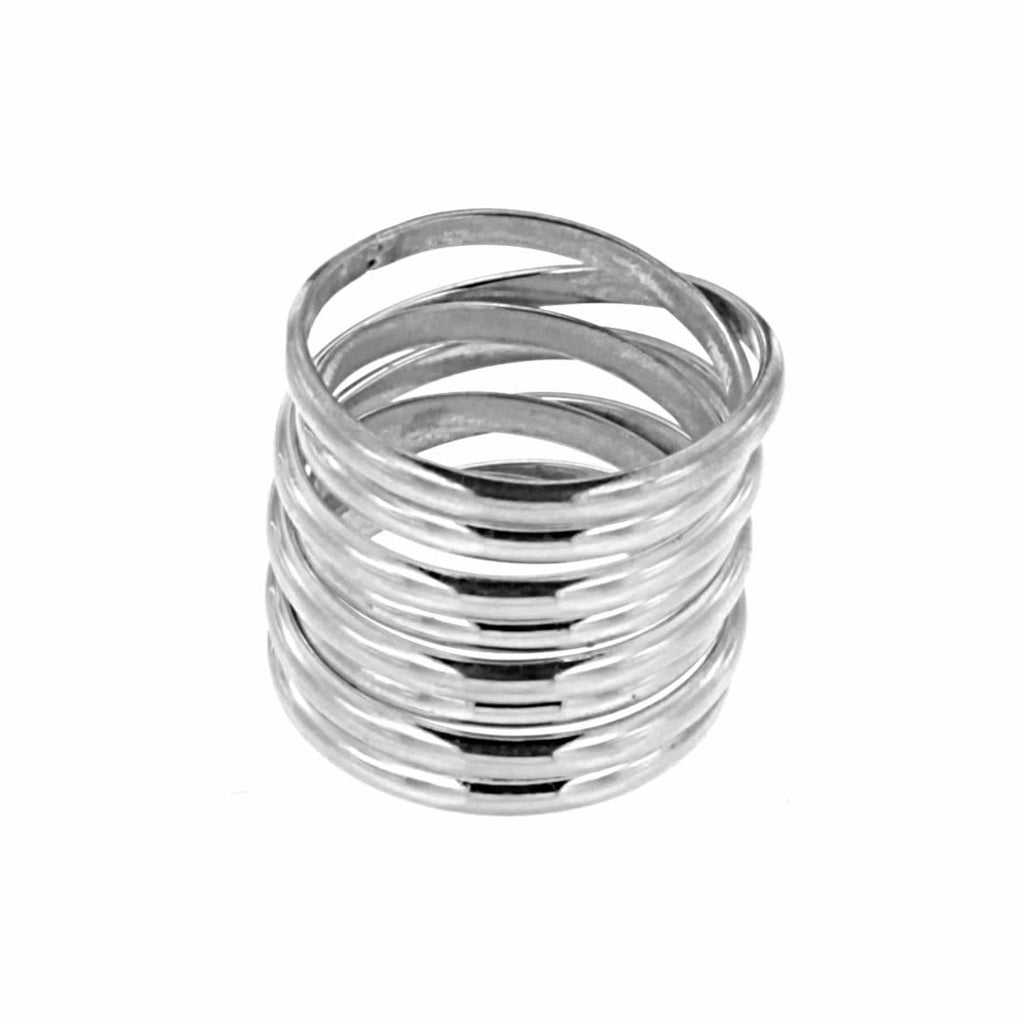 IRONCLAY COILED RING