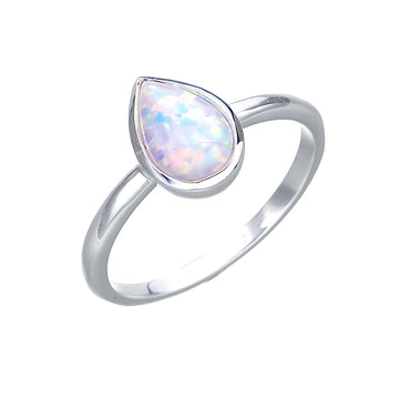 WHITE CELLINE OPAL RING
