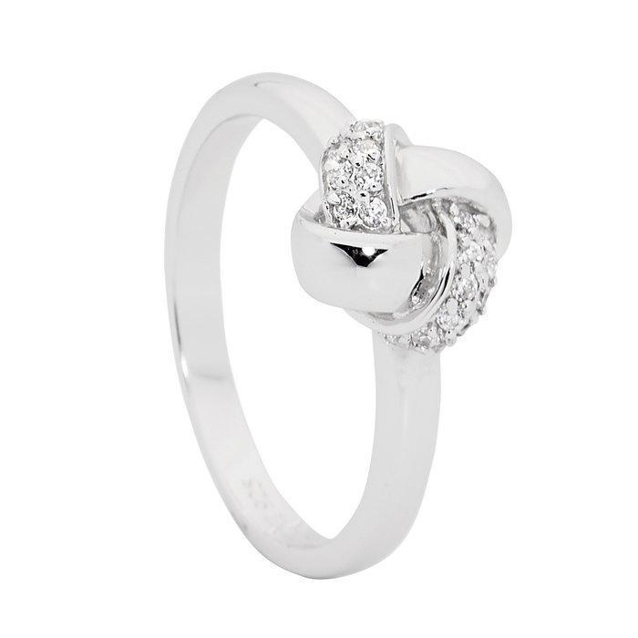 GEORGINI ETERNAL LOVE KNOT RING