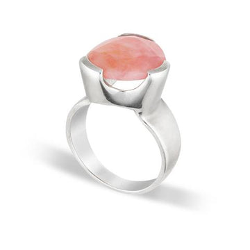 PINK OPAL COCKTAIL RING
