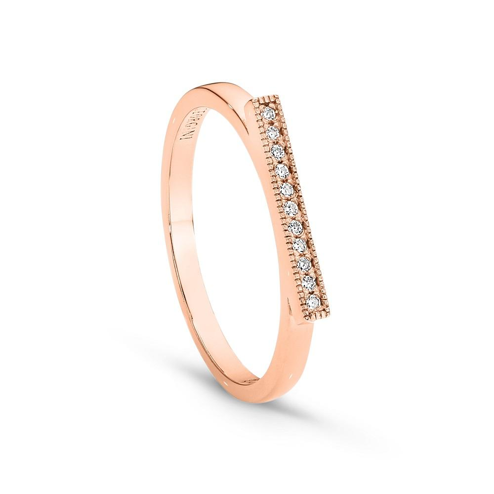 GEORGINI PRATO ROSE GOLD RING
