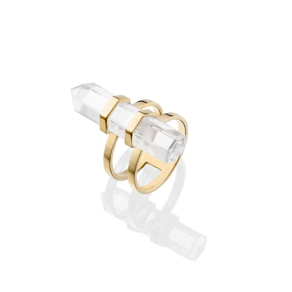 KRYSTLE KNIGHT NEW LOVE CLARITY RING