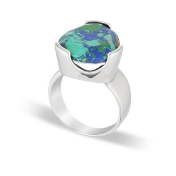 AZURITE COCKTAIL RING
