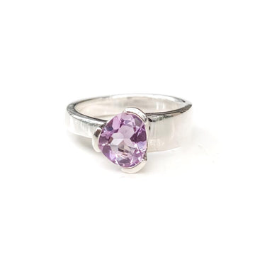 GEMPOWER STACKER RING - PURPLE AMETHYST