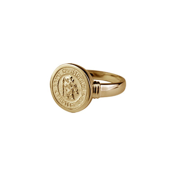 SAINT CHRISTOPHER RING