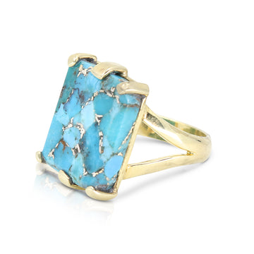 ETHERIA | ETHERIA COPPER TURQUOISE RING
