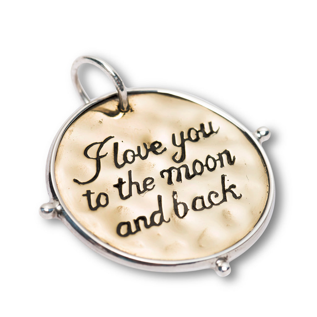 PALAS LOVE TO THE MOON & BACK PENDANT