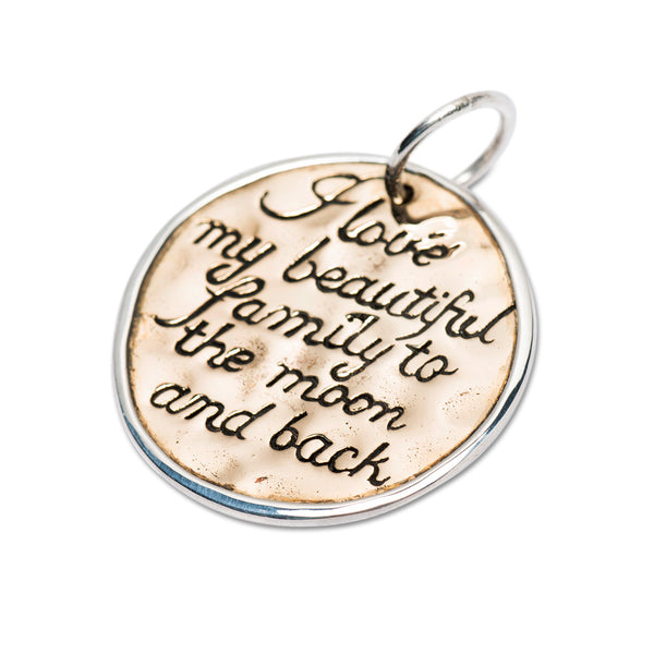 PALAS LOVE MY BEAUTIFUL FAMILY PENDANT