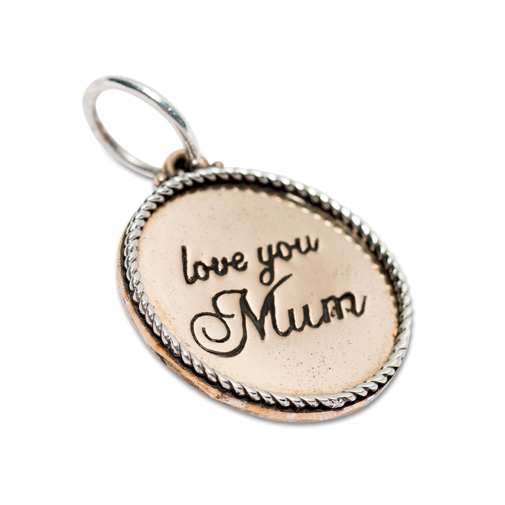 PALAS LOVE YOU MUM CHARM PENDANT