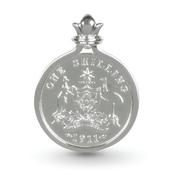 SHILLING COIN PENDANT