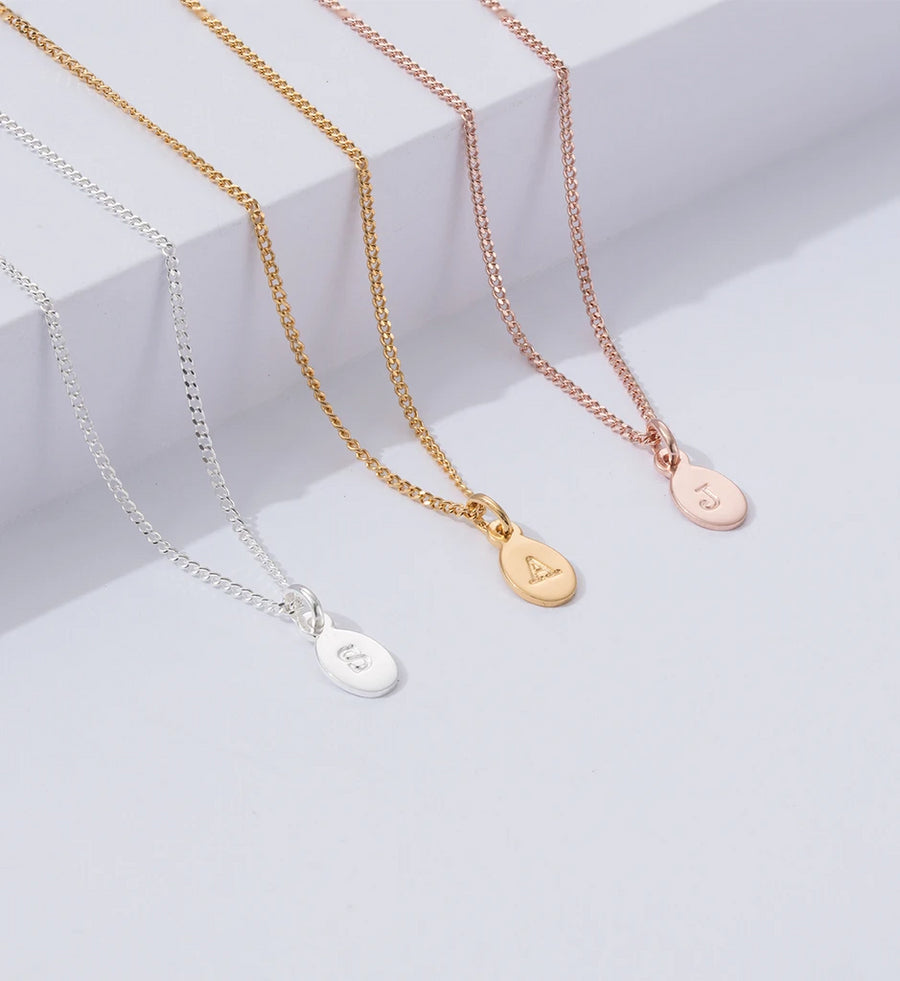 ROSE GOLD INITIAL CHARMS | A - Z