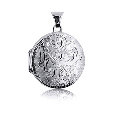 ALCHEMY COLLECTION ENGRAVED LOCKET