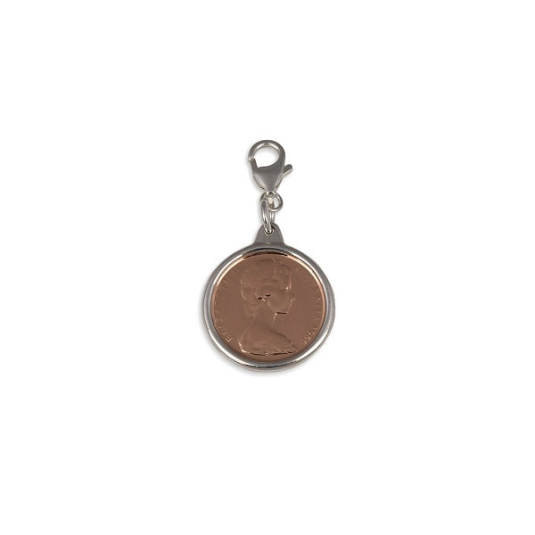 AUTHENTIC TWO CENT COIN PENDANT