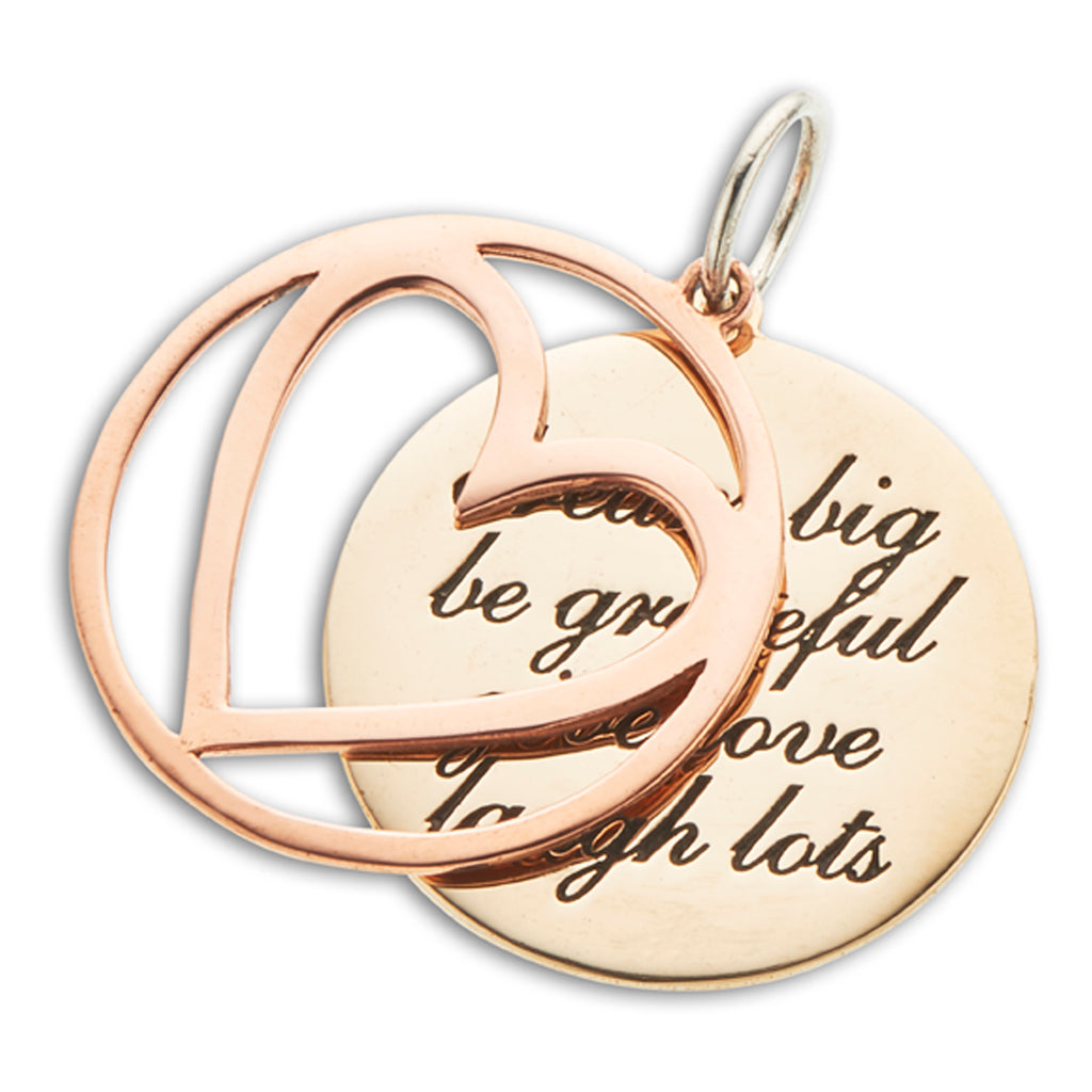 PALAS DREAM BIG/BE GRATEFUL CHARM