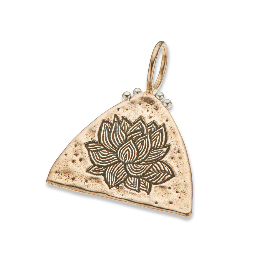 LITTLE LOTUS CHARM