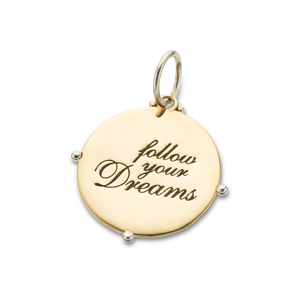 PALAS POSITIVELY CHARMED // FOLLOW YOUR DREAMS CHARM