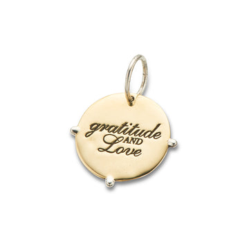 POSITIVELY CHARMED // GRATITUDE AND LOVE CHARM