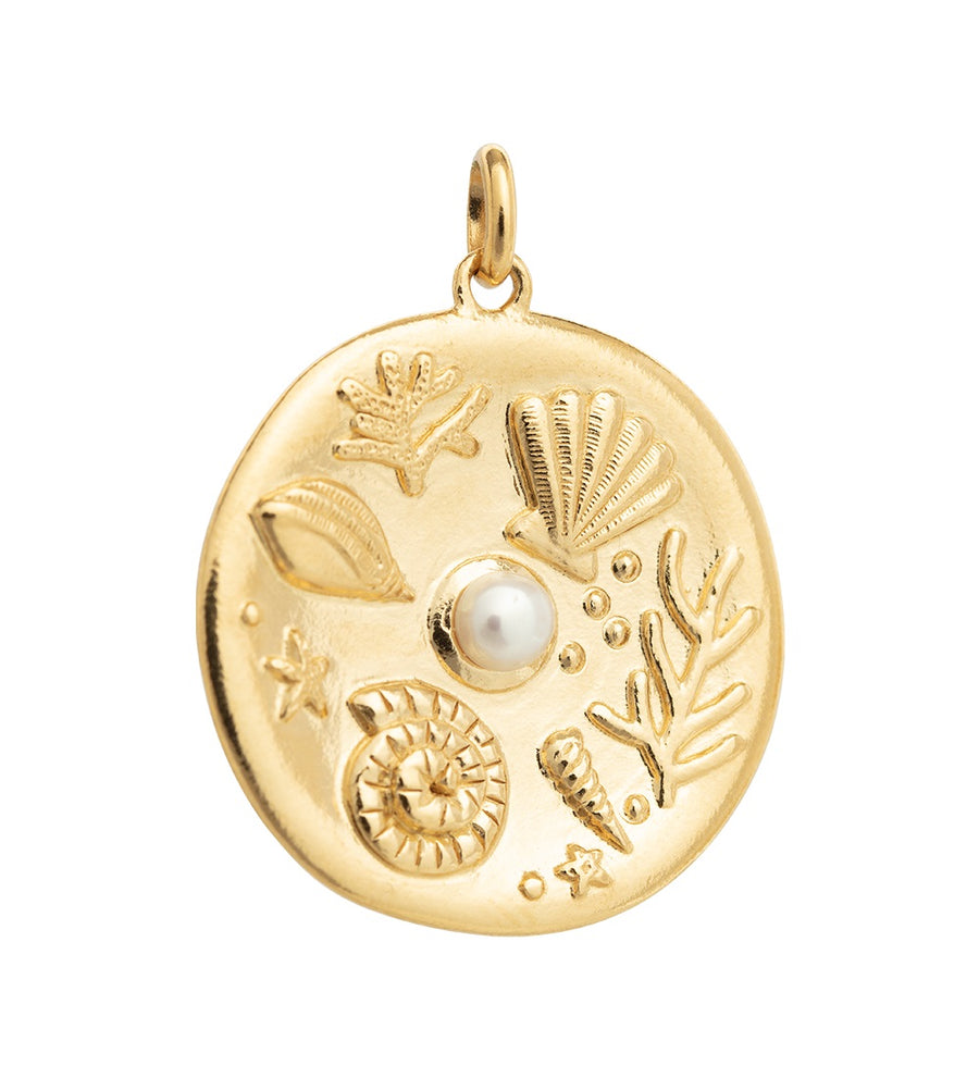X OLIVE COOKE | BY THE SEA COIN PENDANT
