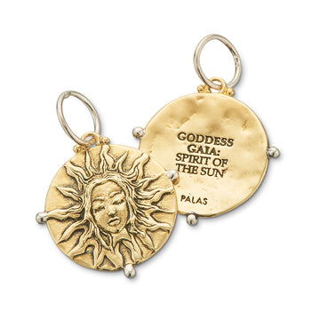 GODDESS GAIA SPIRIT OF THE SUN CHARM