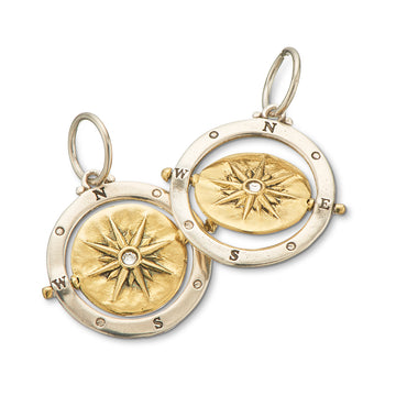 GUIDING LIGHT SPINNER CHARM