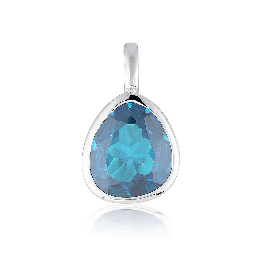 GEMSTONE ADORNMENT - BLUE ZIRCONIA