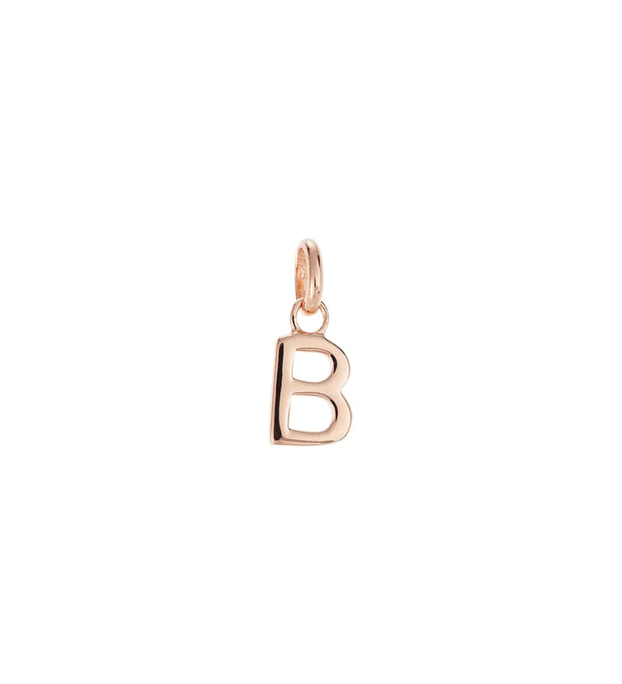 BESPOKE | ROSE GOLD OUTLINE INITIAL CHARMS A-Z