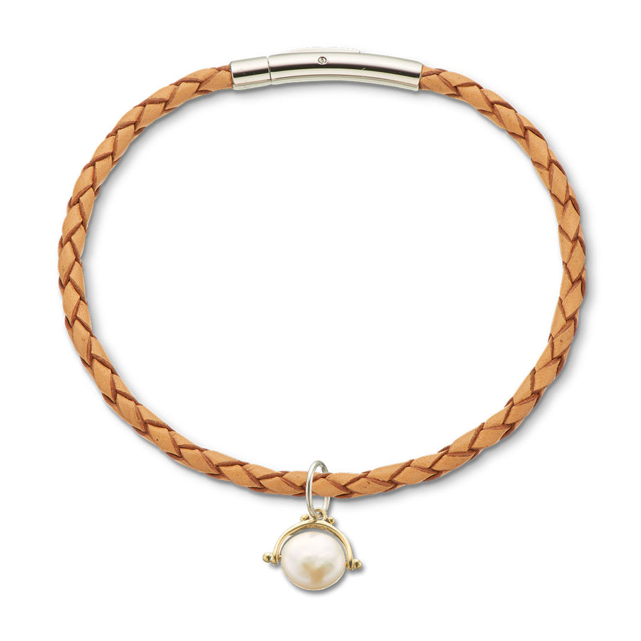SPINNER COLLECTION | PEARL PROSPERITY CHARM