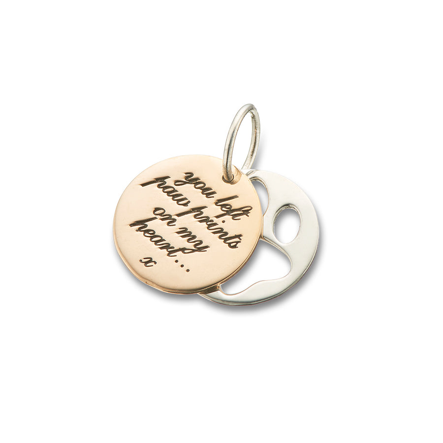 SYMPATHY COLLECTION | PAW PRINTS CHARM