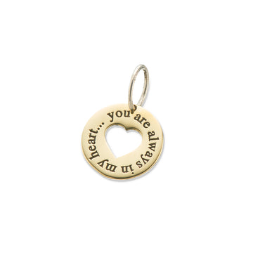 SYMPATHY COLLECTION | ALWAYS IN MY HEART CHARM