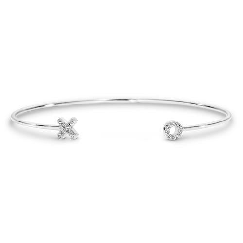 GEORGINI KISS HUG CUFF BANGLE