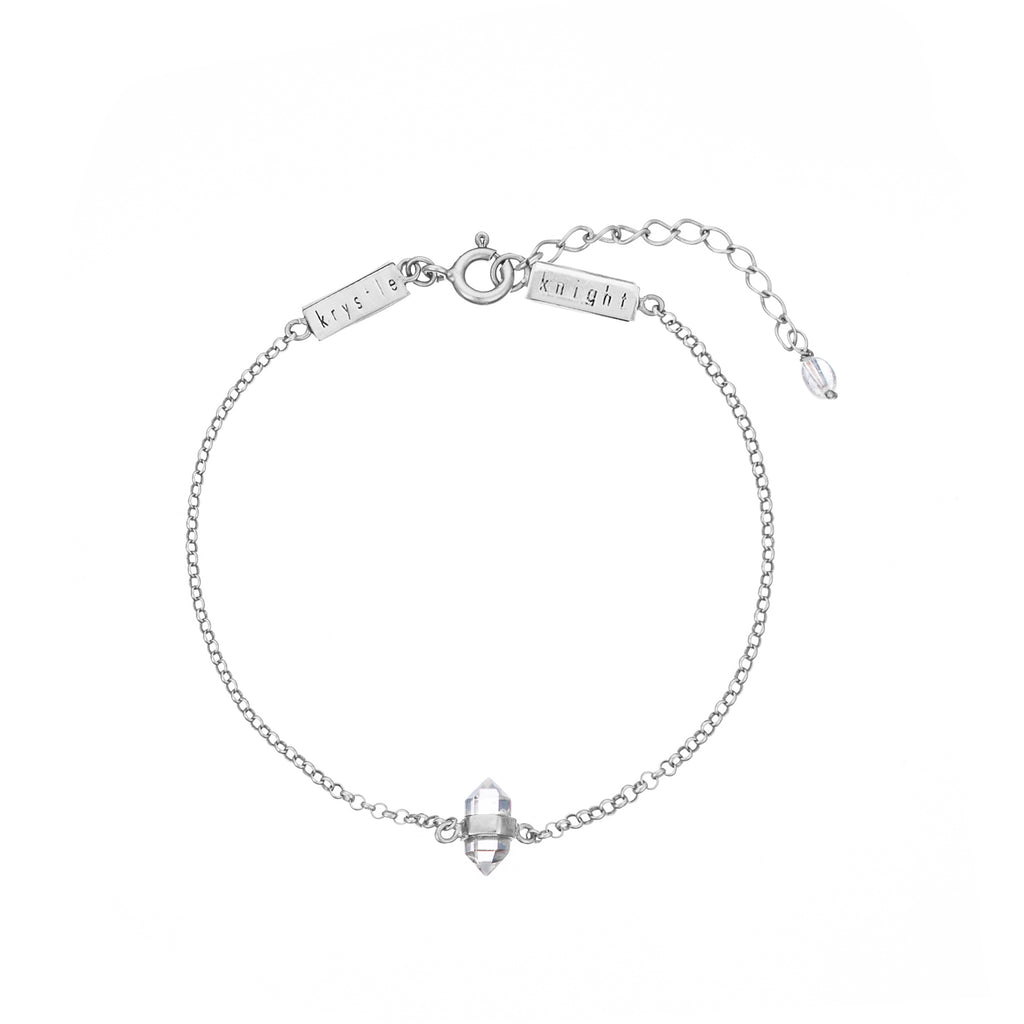 KRYSTLE KNIGHT CALMING QUARTZ BRACELET