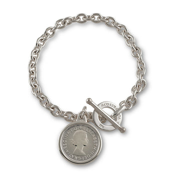 VT DISC AND SIXPENCE BELCHER BRACELET