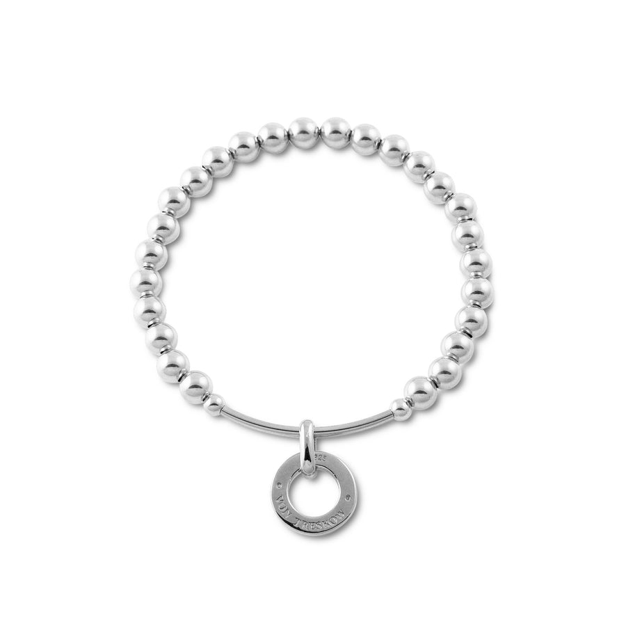 BALL BRACELET WITH BAR AND VT DISC