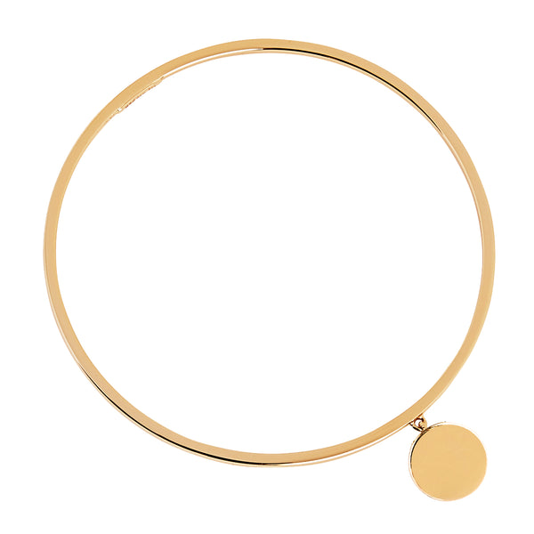 NAJO YELLOW LOST ISLAND DISC BANGLE