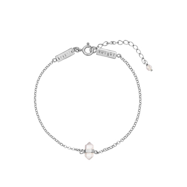 KRYSTLE KNIGHT ALLURE // CALMING ROSE QUARTZ BRACELET SS