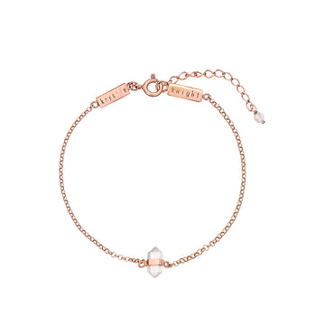 ALLURE | CALMING ROSE QUARTZ BRACELET