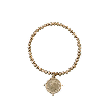 THREEPENCE BALL BRACELET