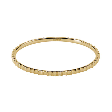 PETITES COLLECTION | FLUTED BANGLE