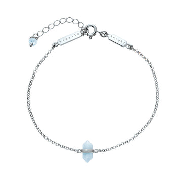 ILLUMINIATION | AQUAMARINE CALMING QUARTZ BRACELET