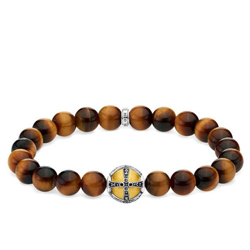 ROYAL CROSS TIGERS EYE BRACELET