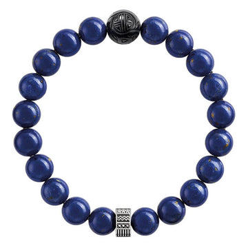 ROYAL BLUE BEAD BRACELET