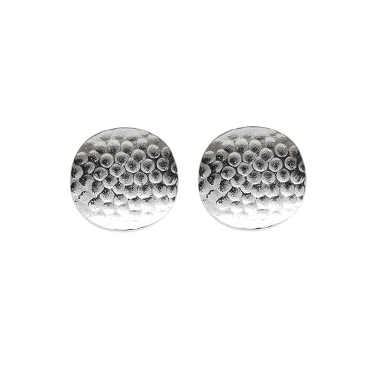 ALCHEMY COLLECTION HAMMERED EARRINGS