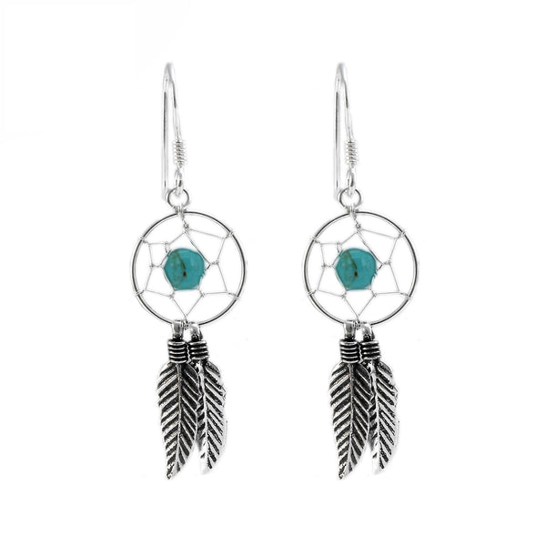 SILVERGIRL DREAMCATCHER EARRINGS