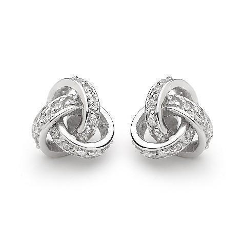 GEORGINI LOVE KNOT EARRINGS