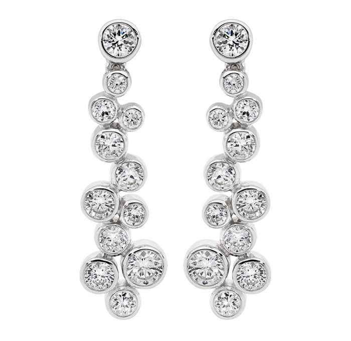 GEORGINI GLAMOUR STUD EARRINGS