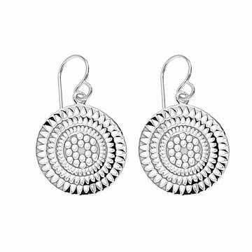 SILVERGIRL CIRCLE EARRINGS